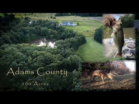 Well Cared For  Home On 100 Managed Acres For Sale (Adams County, IL)