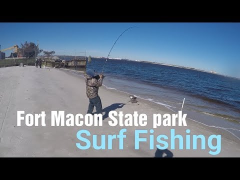Fort Macon State Park / Pier Fishing