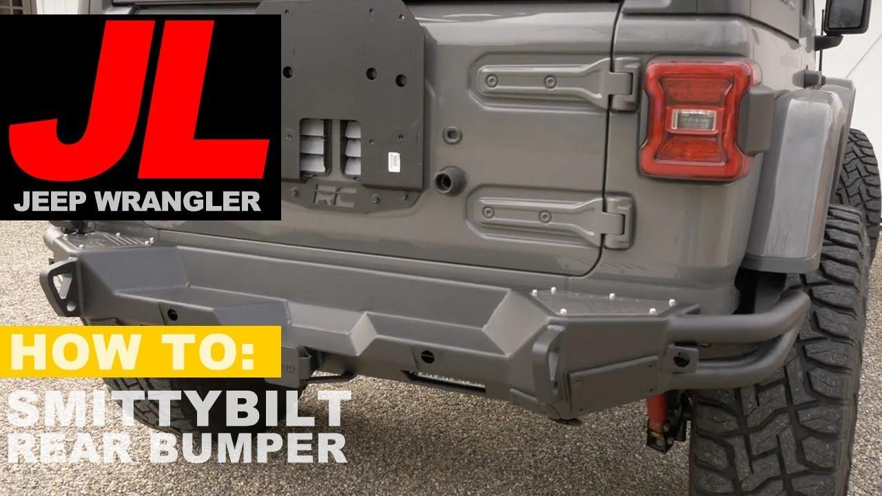 Jeep Wrangler JL Smittybilt Rear Bumper Install & Review ...