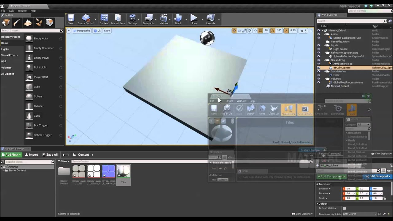 Import a texture into Unreal Engine 4