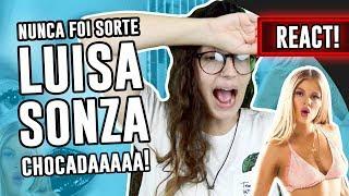 Baixar REACT: Nunca Foi Sorte - Luisa Sonza   Luma Show