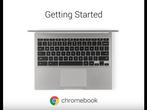 Video Tutorial: Getting Started with Chromebook