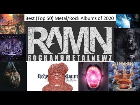 Best (Top) 50 Metal/Rock Albums of 2020 Voted by RockandMetalNewz