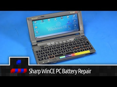 0x002E - Sharp Windows CE PC NiMH Battery Rebuild