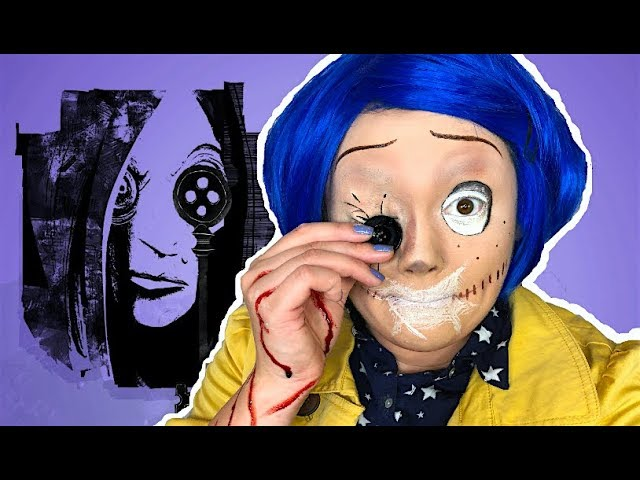 Coraline Meets The Other Mother Makeup Tutorial Youtube