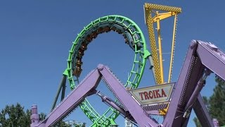 Gambar cover Elitch Gardens Ride Compilation (HD)