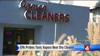 EPA probes toxic vapors near dry cleaner in Ann Arbor