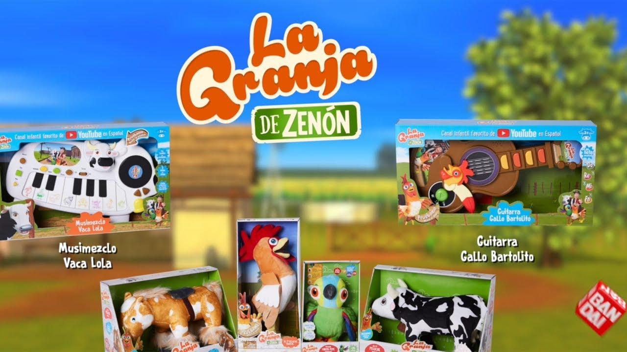 Fiesta En La Granja de Zenón Con Los Jueguetes Musicales