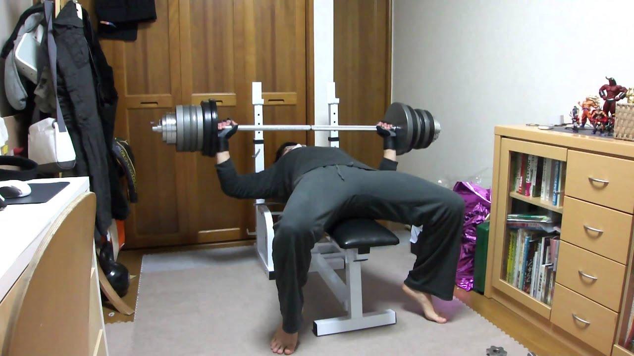 ǭ�トレ Ã�ンチプレス 100kg Bench Press Youtube
