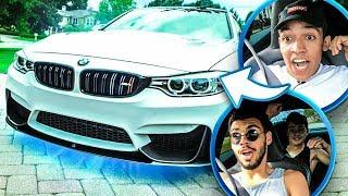 REAÇÃO DOS MEUS AMIGOS AO ANDAR NA BMW M4 ‹ PORTUGAPC ›