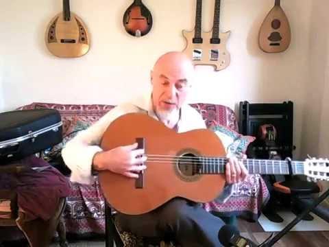 Choosing a classical guitar for flamenco. Pete Carter.