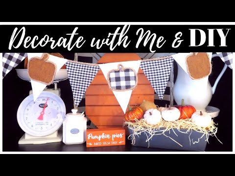 FALL DECORATE WITH ME 2019 | DOLLAR TREE FALL DIY | FALL IN JULY
