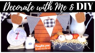 FALL DECORATE WITH ME 2019 | DOLLAR TREE FALL DIY | FALL IN JULY DAY 2