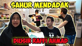DIAM-DIAM DATENGIN RUMAH @Rans Entertainment  MINTA SAHUR. Wkwk