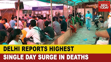 Delhi COVID Crisis: Capital Reports 1,501 New COVID Cases And 28 Deaths In Last 24 Hours;