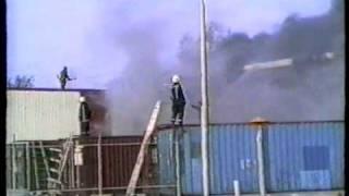 ZEER GROTE BRAND IN DONGEN BANDON 1997