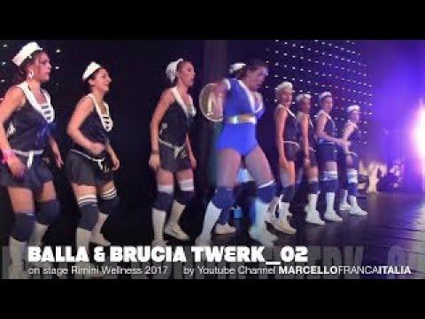 Rimini Wellness 2017 on stage BALLA & BRUCIA TWERK HD 1080p