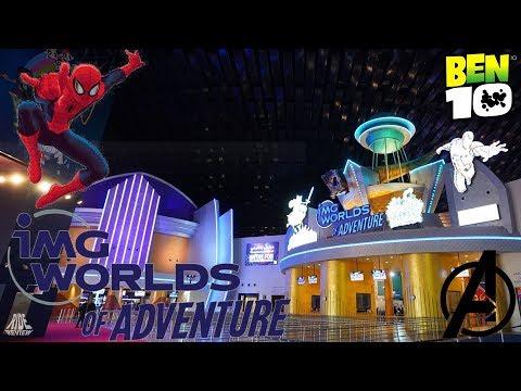 IMG Worlds of Adventure – Freizeitpark zu Marvel, Cartoon Network & Co. – Ride Review