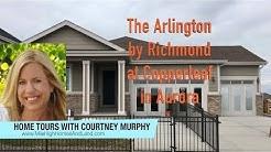 New Homes in Aurora Colorado - Arlington Model by Richmond at Copperleaf