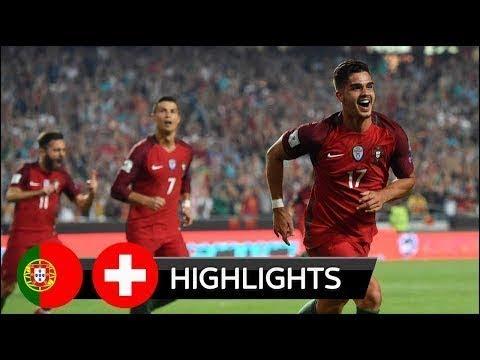 Portugal 2-0 Switzerland Highlights & Goals 10 October 2017