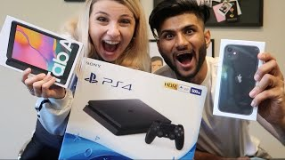 The Giveaway Winner is... *iPhone 11, PS4, and Samsung Tablet*