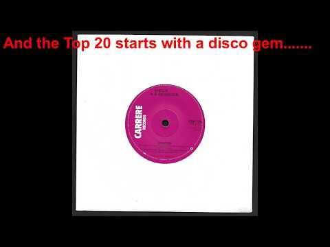 January 26th 1980 UK TOP 50 Vinyl singles