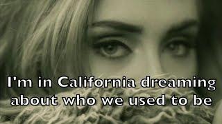 Adele - Hello Karaoke Acoustic Guitar Instrumental Cover Backing Track + Lyrics