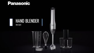 4-in-1 Hand Blender MX-S401 - Powerful and Precise Preparation for Various Cuisines
