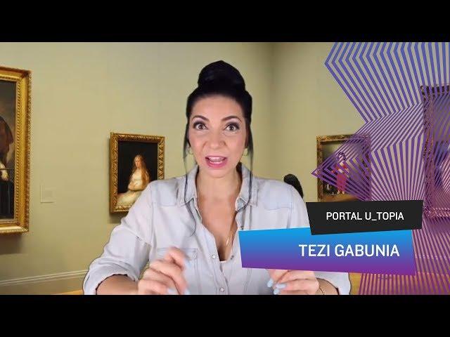 Portal U_topia - Tezi Gabunia, se você não vai ao museu, o museu vai até você