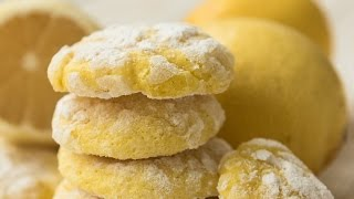 Lemon Gooey Butter Cookies - A New American Cookie Classic Recipe