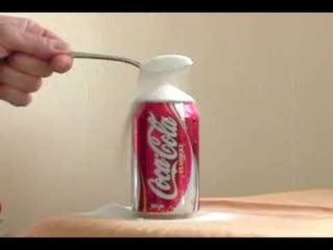 How much sugar in a can of cola?