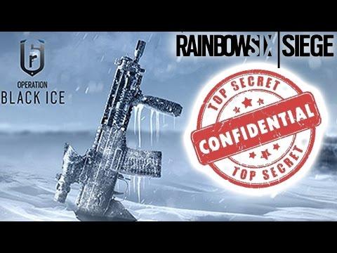 Rainbow Six Siege SECRET NEVER BEFORE SEEN ARTWORK ASSETS Operation Black Ice Skull Rain Dust Line