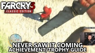 Far Cry 3 Classic - Never Saw it Coming Achievement/Trophy Guide - Takedown From Above using Zipline