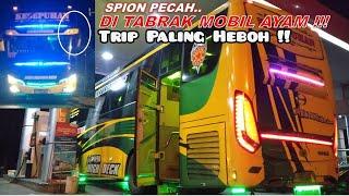 Heboh Dan Histeris!! Trip Bus Putra Luragung Kesepuhan