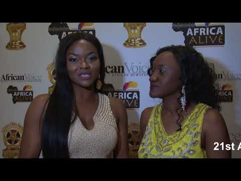 Africa Alive Interviews Kehinde Bankole Best Actress For African Film In English Language