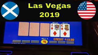 Ballys Las Vegas live video poker