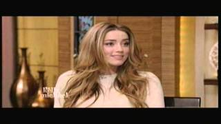 Amber Heard - Live With Kelly and Michael