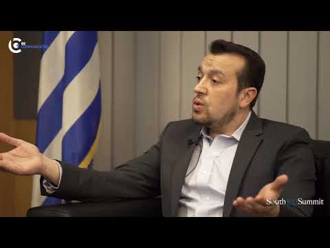 South EU Summit Interview with Nikos Pappas - Greek Minister of Digital Policy, ICT, and Media