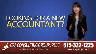 Nashville CPA | Certified Public Accountant Nashville Tennessee