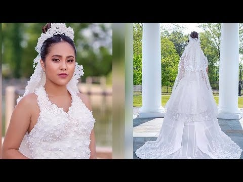 Meet The Finalist In Toilet Paper Wedding Dress Contest Youtube