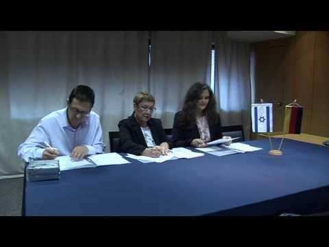 חתימה על הסכם לשיתוף פעולה בין הבורסה לניירות ערך ובורסת הנגזרים Eurex