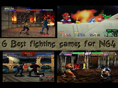 6 Best Fighting Games For N64