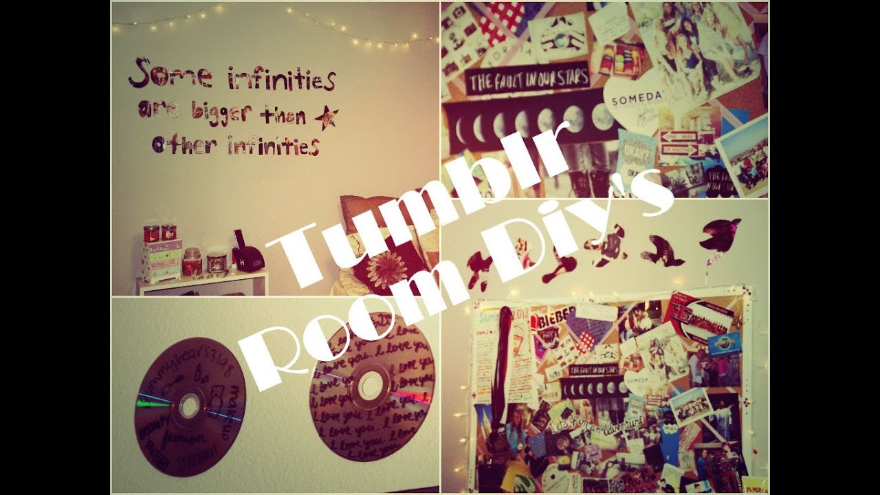 Diy tumblr room gummybears3198 youtube for Bedroom ideas tumblr diy