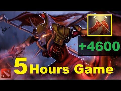 видео: 5 - ЧАСОВАЯ ИГРА dota 2 | legion commander +4600 УРОНА