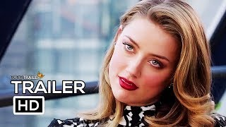 LONDON FIELDS Official Trailer #2 (2018) Amber Heard, Cara Delevingne Movie HD