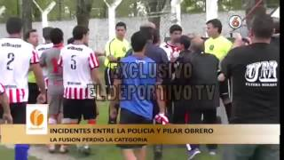 VIDEO: Trompadas, Palos Y Patadas Voladoras En El Fútbol Del Ascenso