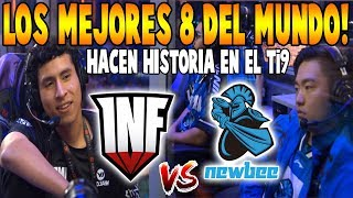 "INFAMOUS vs NEWBEE [Game 3] BO3 - Eliminación ""Top 8 del Mundo"" - TI9 THE INTERNATIONAL 2019 DOTA 2"