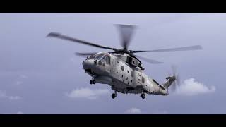 The helicopters protecting HMS Queen Elizabeth | Royal Navy Fleet Air Arm