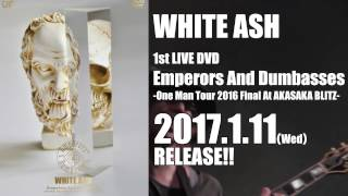 "【2017年1月11日発売】""Emperors And Dumbasses"" Trailer第二弾 / WHITE ASH"
