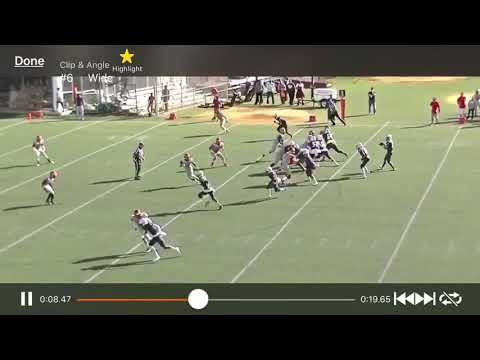 Curtis High School receiver Amad Anderson makes sick catch